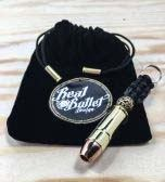 Real Bullet Design Key Chain .45 LC Cowboy